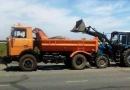 Предприятие «Городские дороги» продолжает работы по благоустройству Одессы. Фото