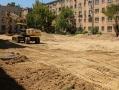 Возле старейшей школы Киевского района появится современный стадион