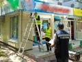 За неделю в Одессе демонтировали 121 рекламную конструкцию, размещенную с нарушениями