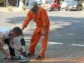 В Одессе продолжают демонтаж незаконно установленных юнипаркеров