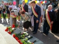Odessites have laid flowers at the monuments to the founders and governors of the city. Picture story