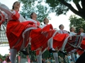 The multinational Odessa sang and danced at the City Garden. Big picture story