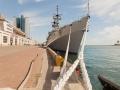 Italian Navy's destroyer visited Odessa. Photos