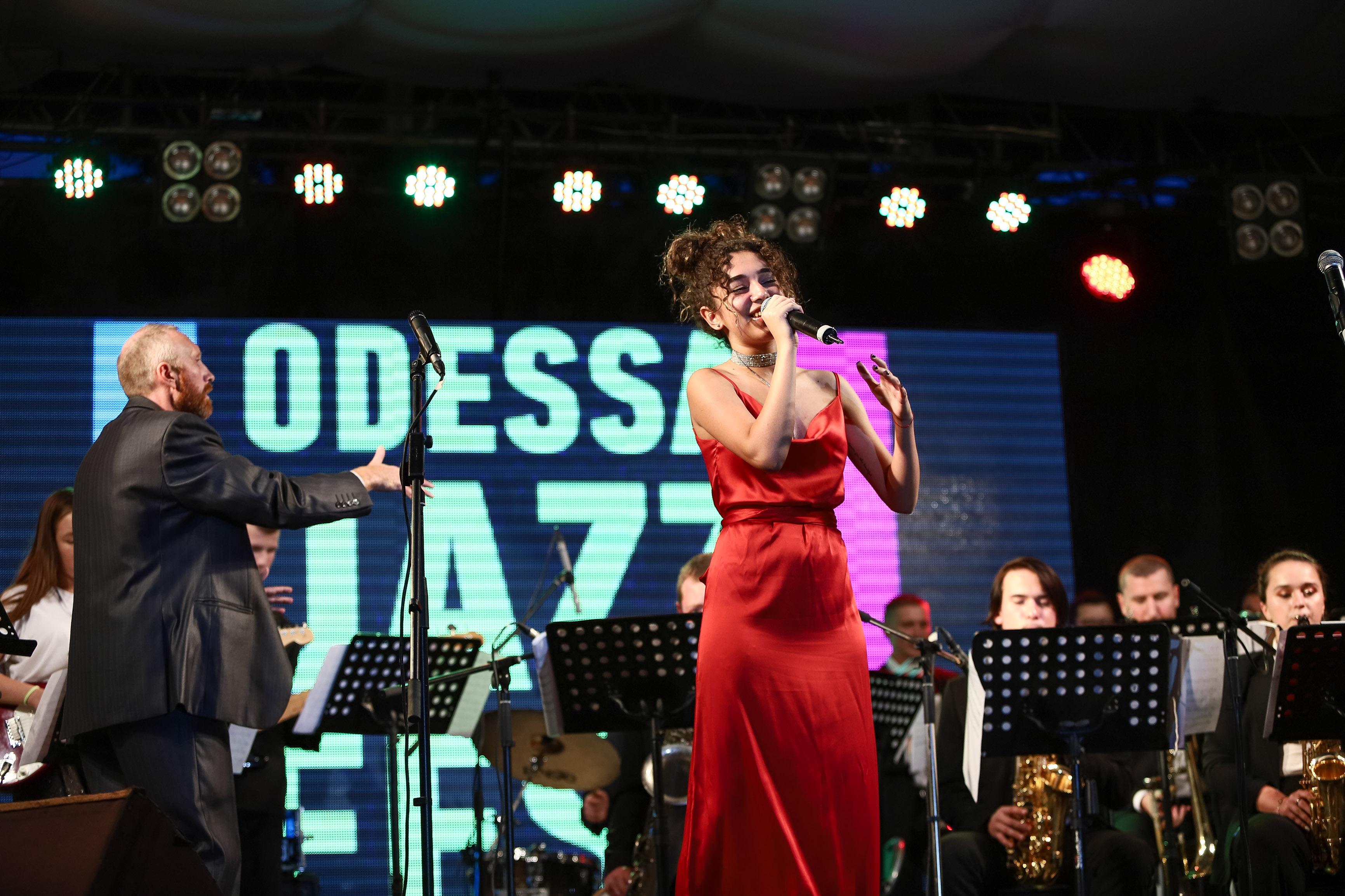 Международный джазовый фестиваль Odessa JazzFest прошел под открытым небом. Фото